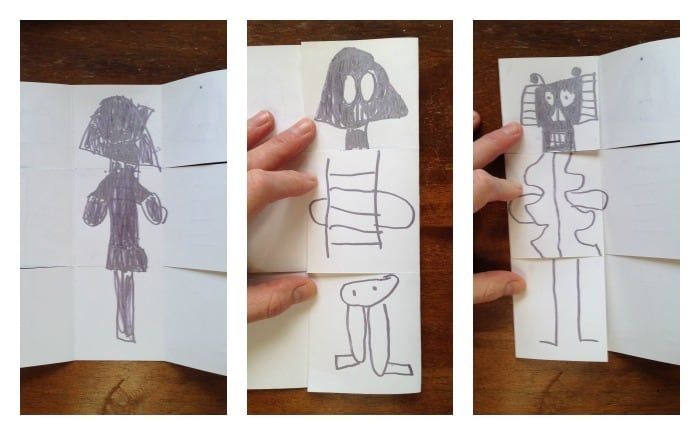 Exquisite Corpse book project