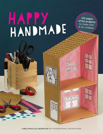 Happy Handmade cover - one of the coolest kid craft books I've seen.