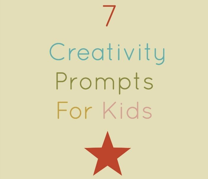 7 easy and fun ways to get kids thinking creatively (not necessarily making more art, just looking at the world in a fresh way.