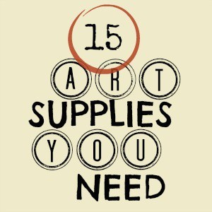 My Favorite Art and Craft Supplies • Craftwhack