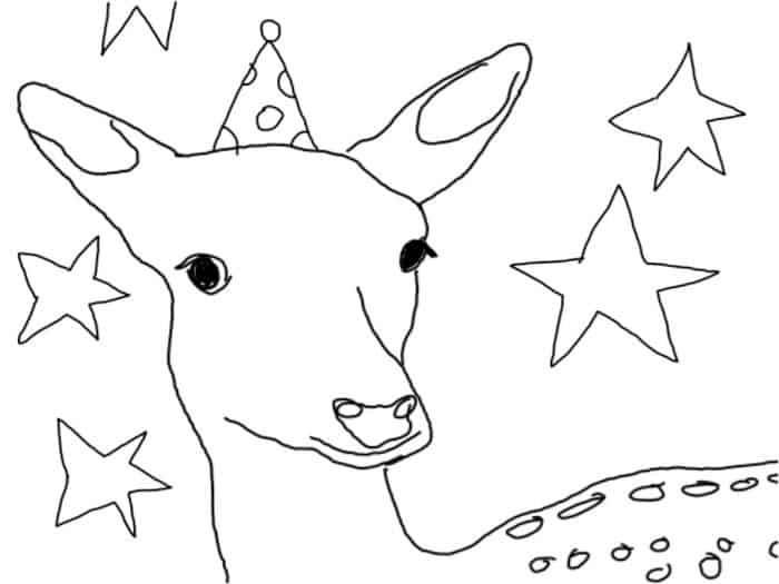 Cool Coloring Sheets Made on the Sprout · Craftwhack
