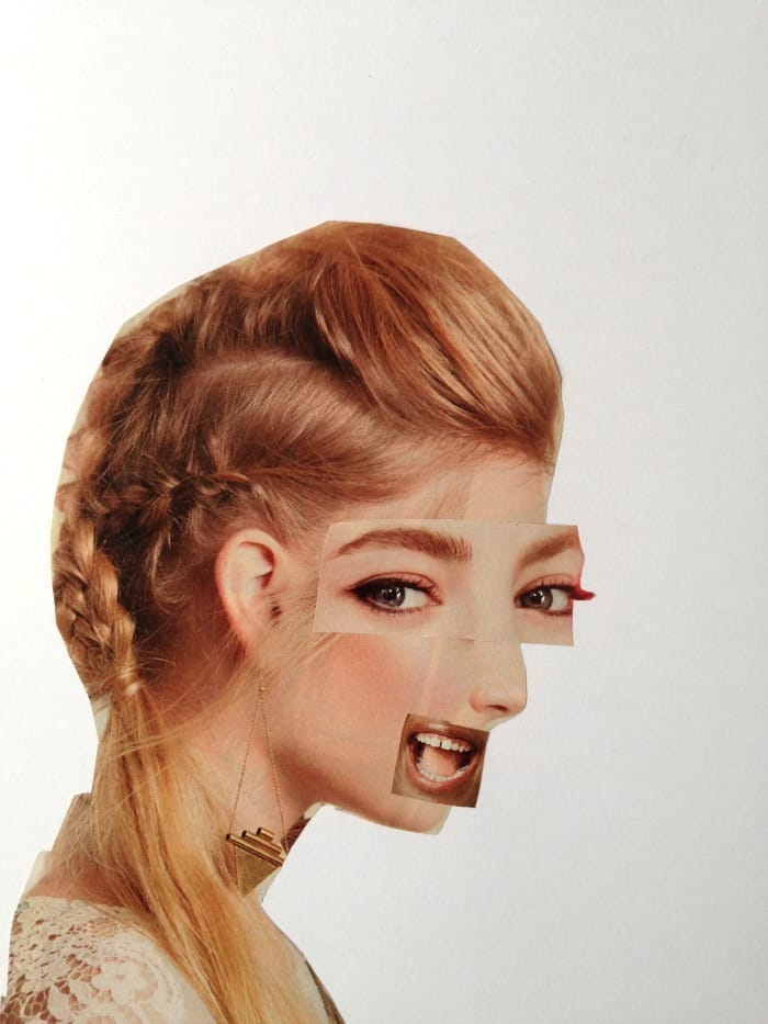 Hilarious Magazine Face Collages Craftwhack