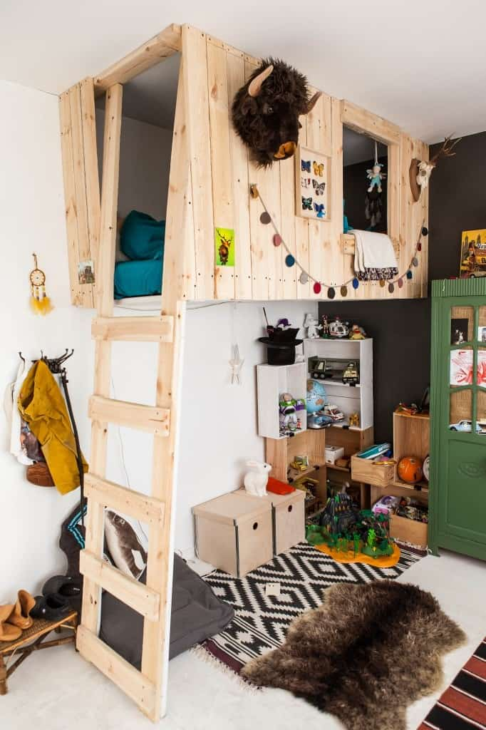 25 Awesome Boy Bedroom Ideas Tinyrottenpeanuts 23 Another Loft Bed