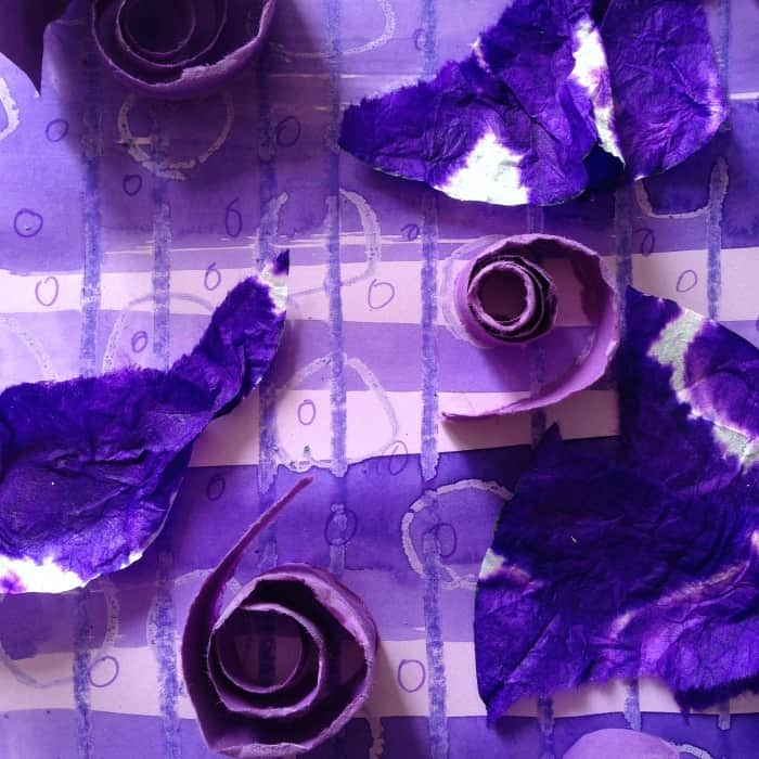 All About Purple: A Craft and a Smoothie