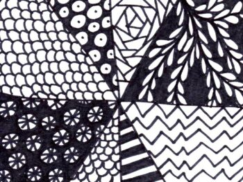 Easy Zentangle Project!