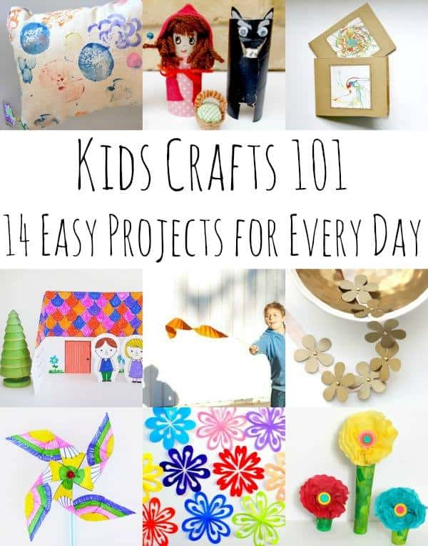 easy kids crafts roundup