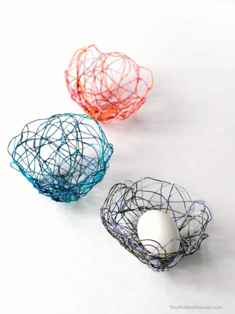Cool craft: string bowls