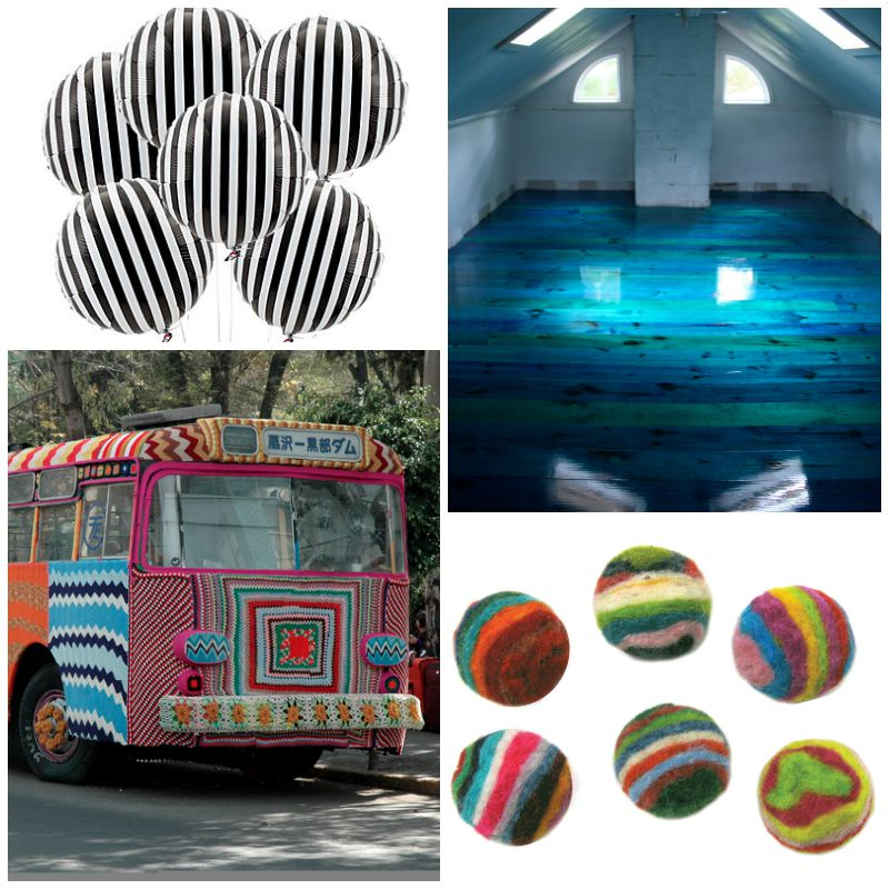 20 Gorgeous Striped Art Pieces and DIYs