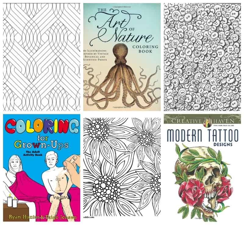 TONS of Coloring Pages For Adults • Craftwhack