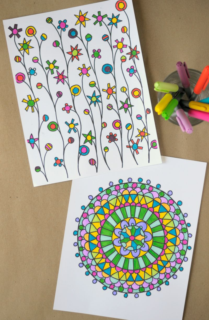 Coloring pages ebook - coloring pages for adults