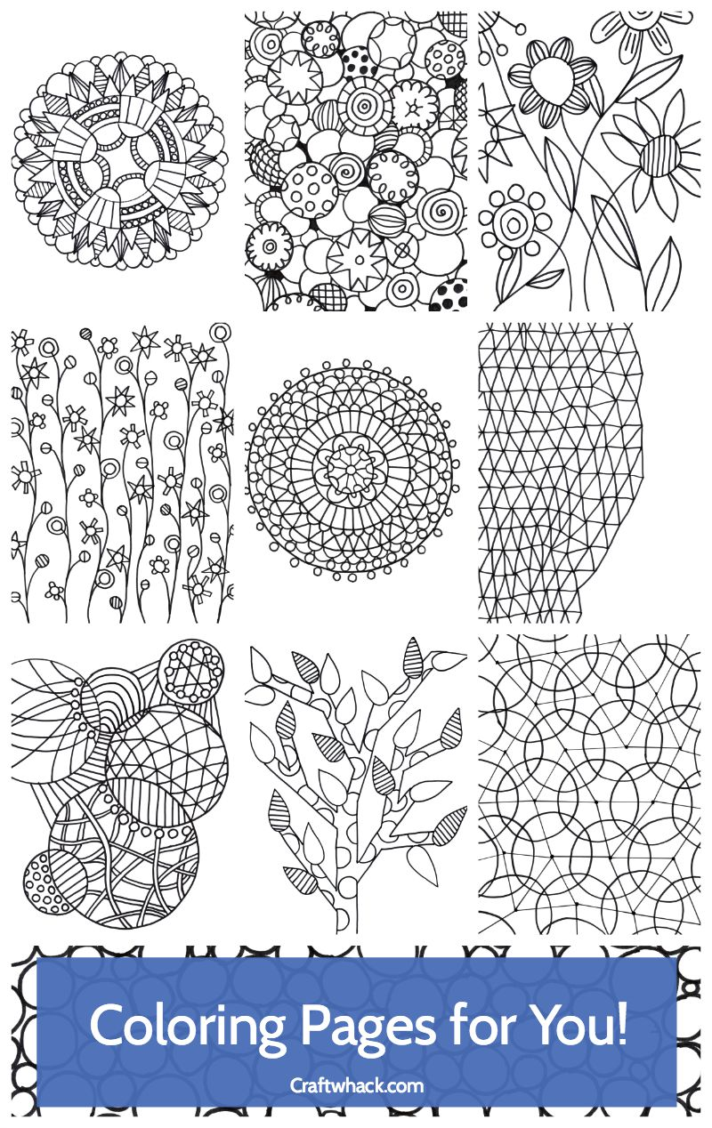 Cool coloring book for adults ebook