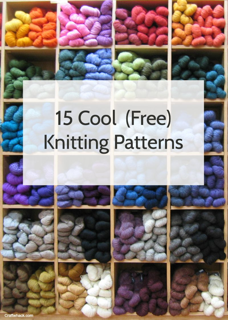 15 Really Lovely Free Knitting Patterns