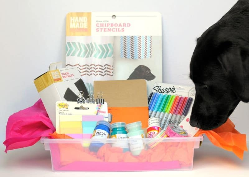 giveaway stuff for Craftwhack's new site