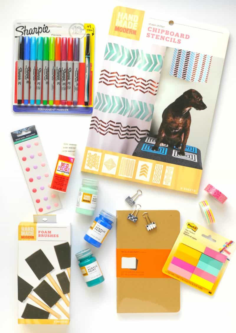 giveaway stuff for Craftwhack's new blog