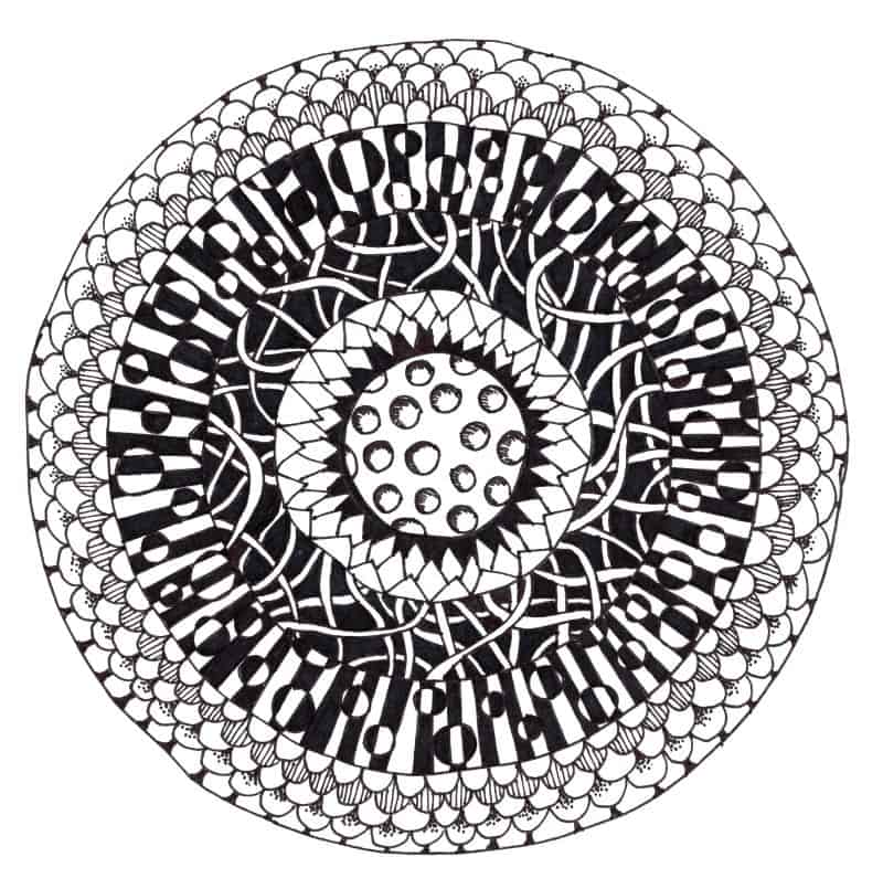 How To Zentangle Craftwhack Stunning Zentangle Patterns