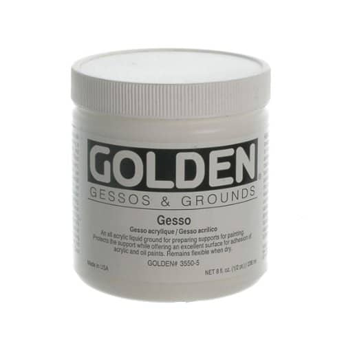 Beautiful, wonderful gesso
