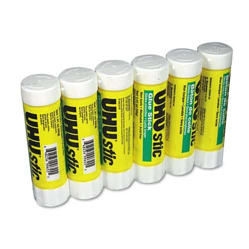 These awesome glue sticks.