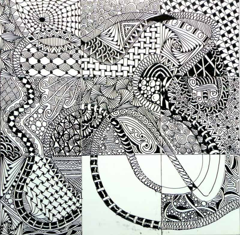 zentangle9square