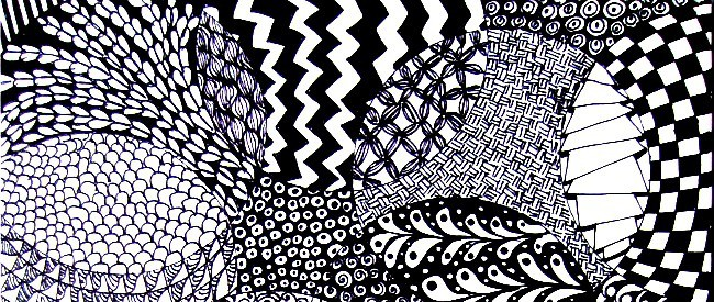 cropped zentangle