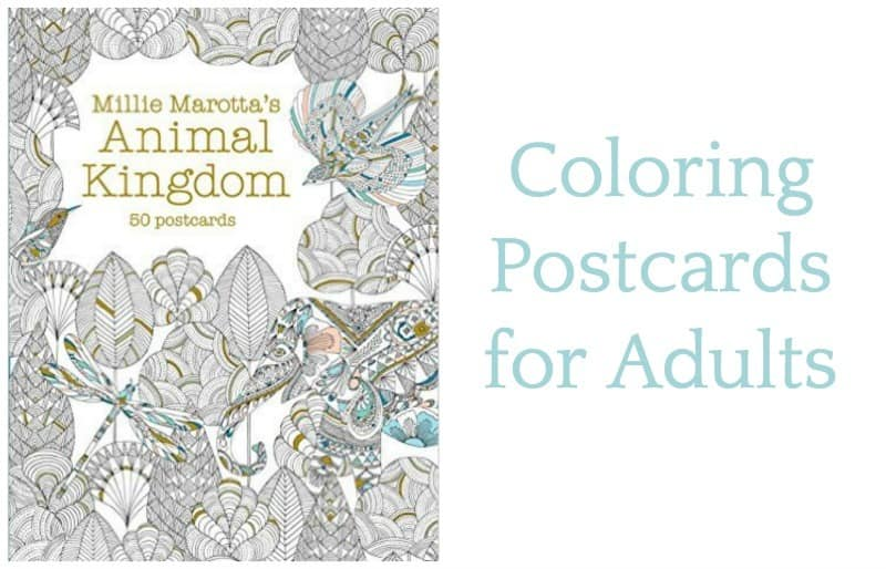 Adult Coloring Pages: Postcard Version • Craftwhack