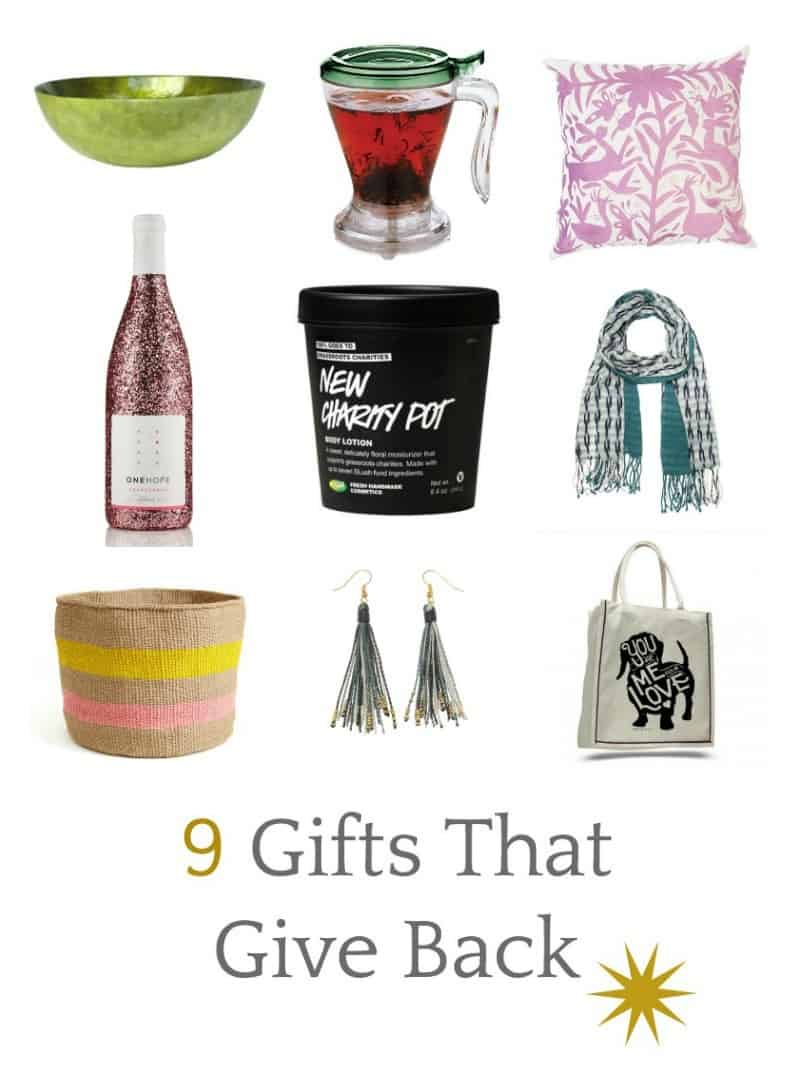 Beautiful gifts that give back- be a champ this holiday season