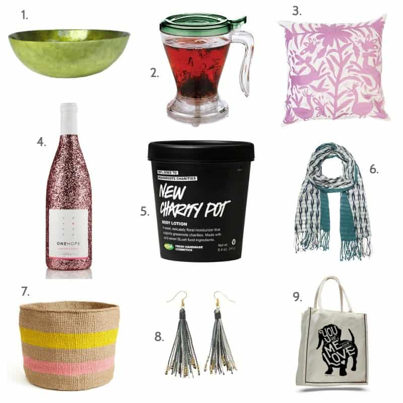 9 gift ideas that give back