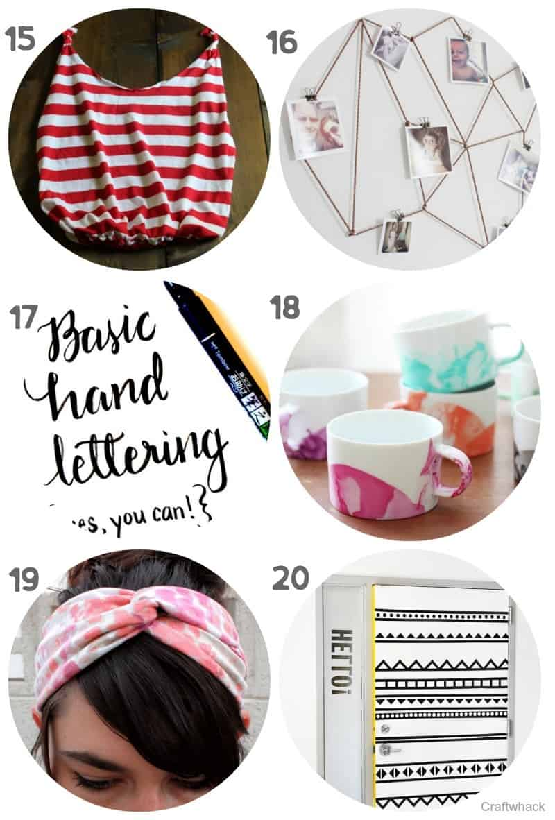 Lots Of Great Ideas For Teen Crafts
