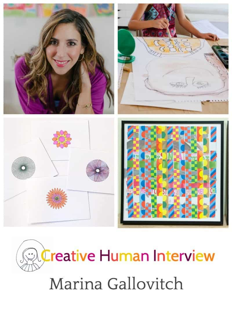 Creative Human Interview with Marina Gallovitch of Flash Bugs Studio - Love her answers