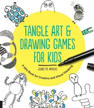 Tangle Art and Drawing Games Book