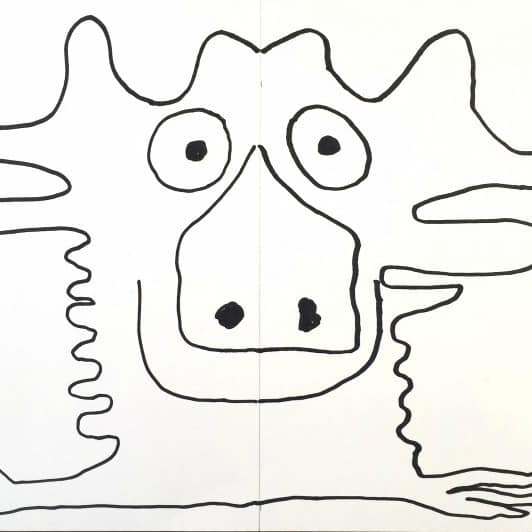 Easy drawing game for kids