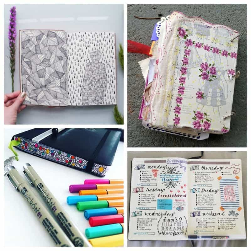Art journals and paper planners roundup