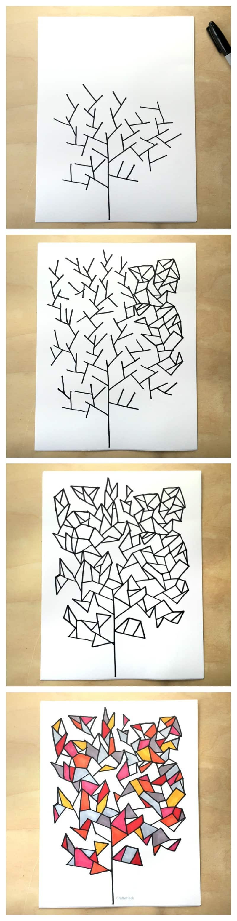 drawing games on paper From My Book 1 Simple Drawing Game Craftwhack