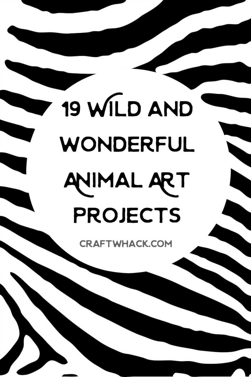19 awesome animal art projects for kids