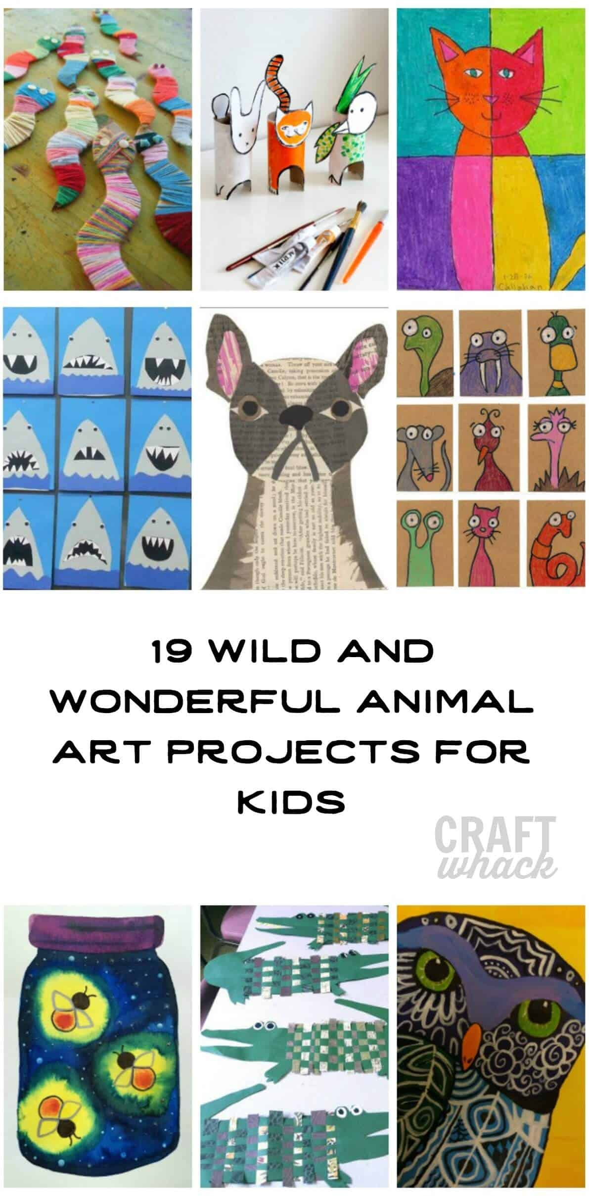 animal art projects