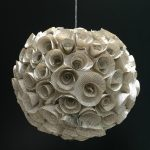 Make a Cool Orb From Old Book Page Flowers