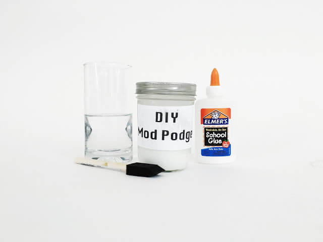 diy mod podge recipe