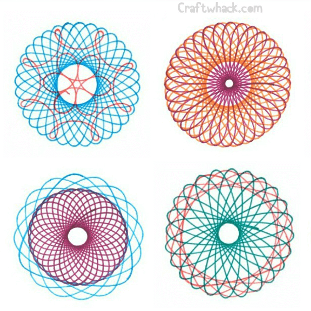 Spirograph and Gel Pens Are a Match Made in Arty Heaven