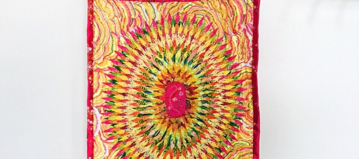 Quilt by Peggy Sahmaunt - creative person interview on Craftwhack.com