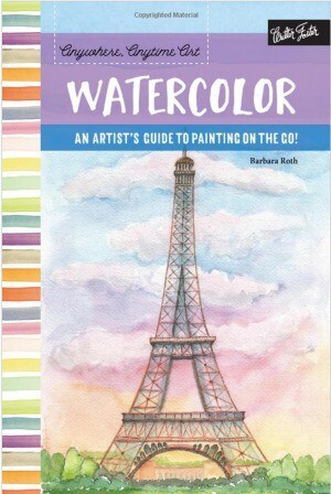 Watercolor En Plein Air painting book by Barbara Roth