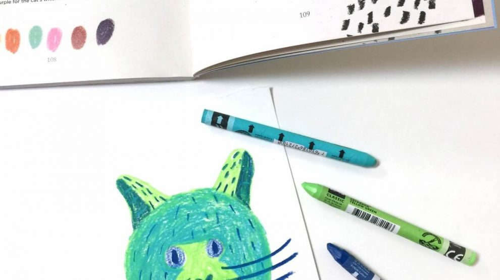 Monika Forsberg's book, Crayon An Artist's Colorful Guide to Drawing on the go! is awesome.