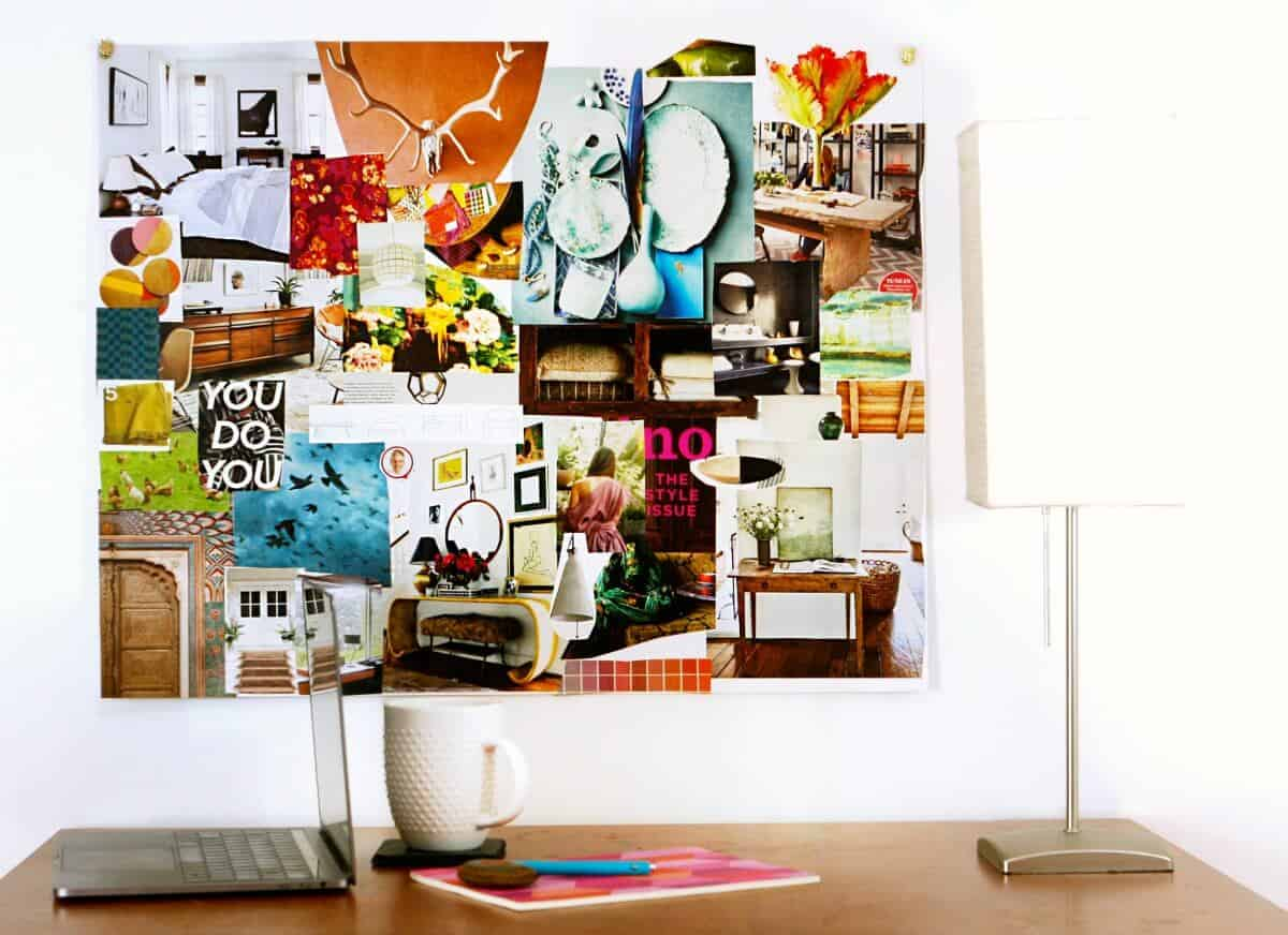 How and why to make a vision board #visionboard