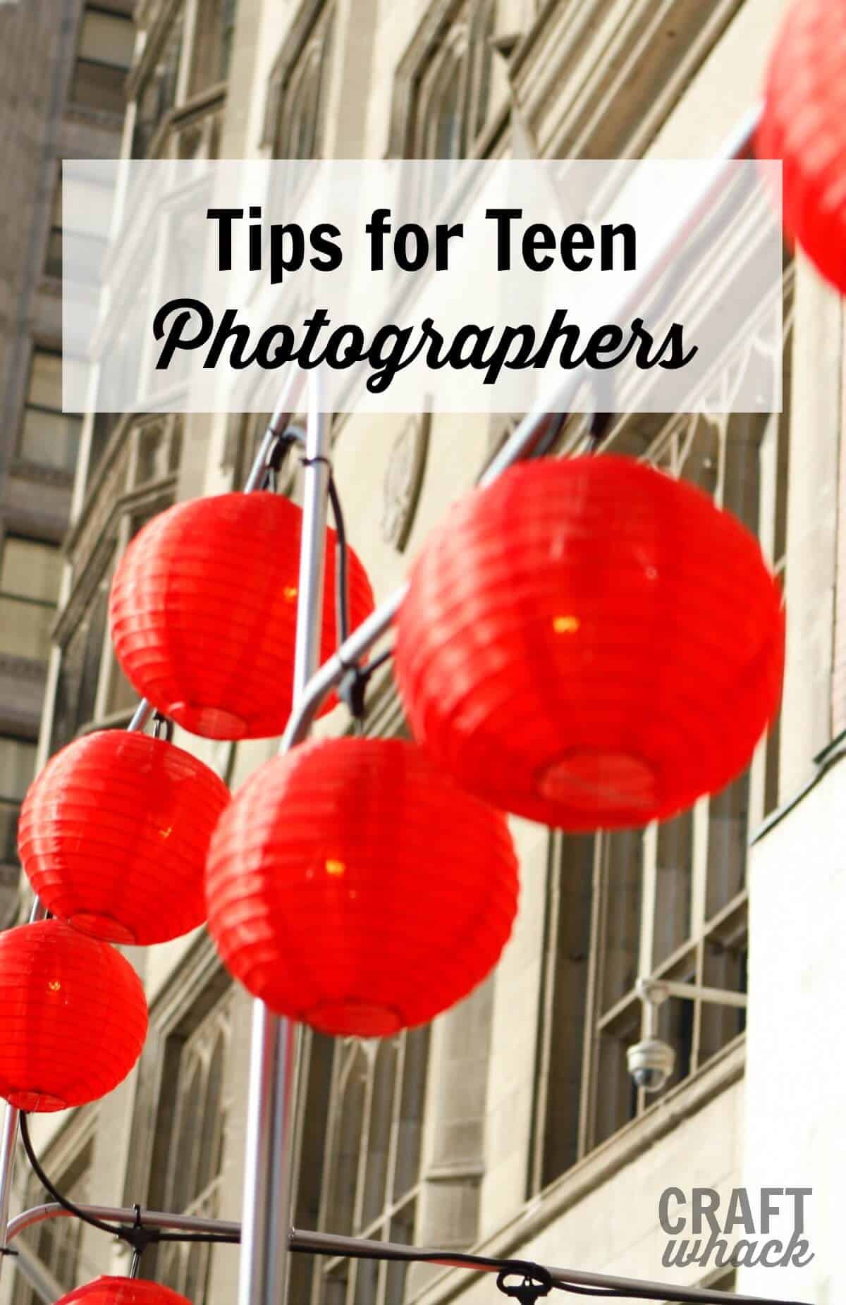 Lots of great resources for teen photgraphers - become a teen photographer! #photographytips