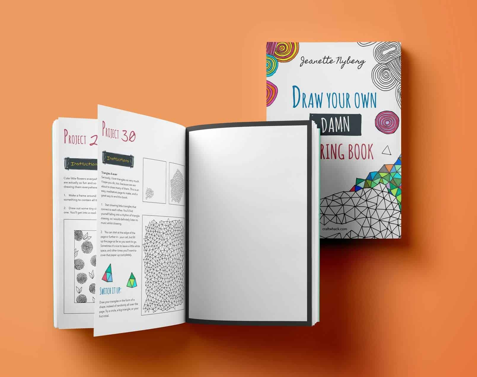 Draw Your Own Damn Coloring Book by Jeanette Nyberg