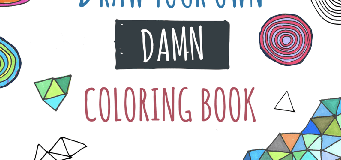Draw your own coloring book