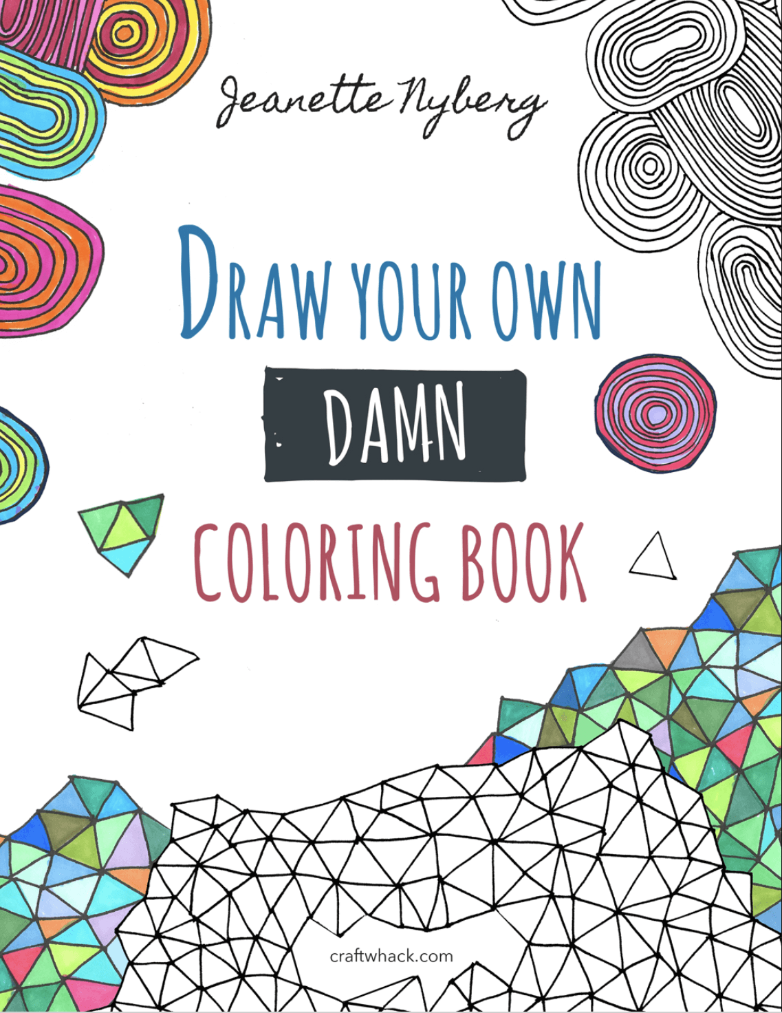 Cute Book Cover Drawing : It s time to draw your own damn coloring book craftwhack