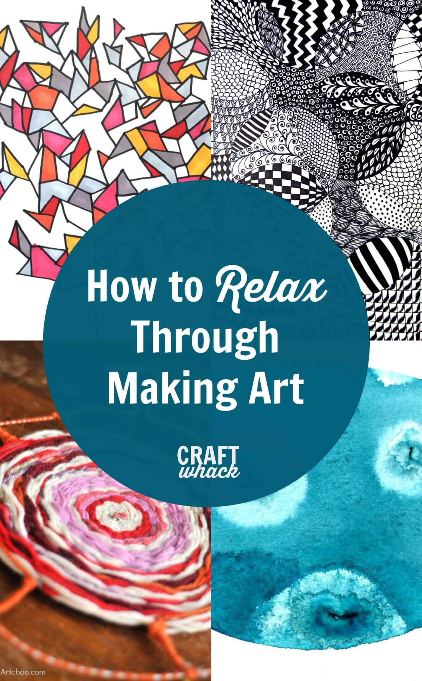 Art Therapy For All How To Relax Through Making Art