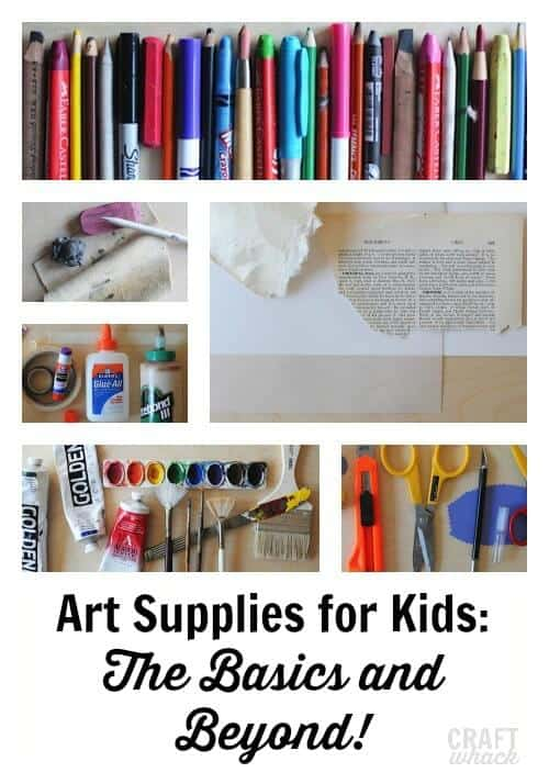Best art supplies for kids