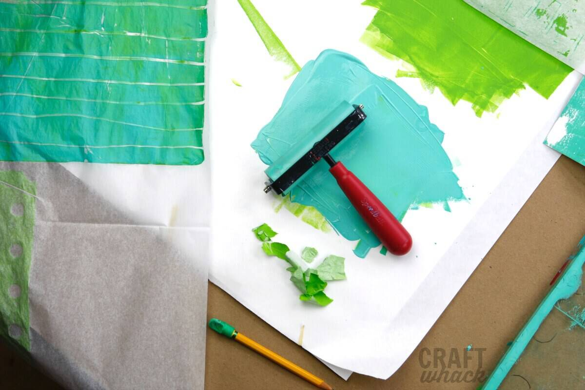 gelli plate printing supplies