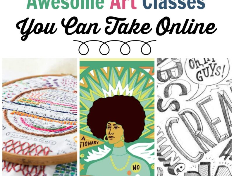 Online Art Classes You Need to Check Out · Craftwhack