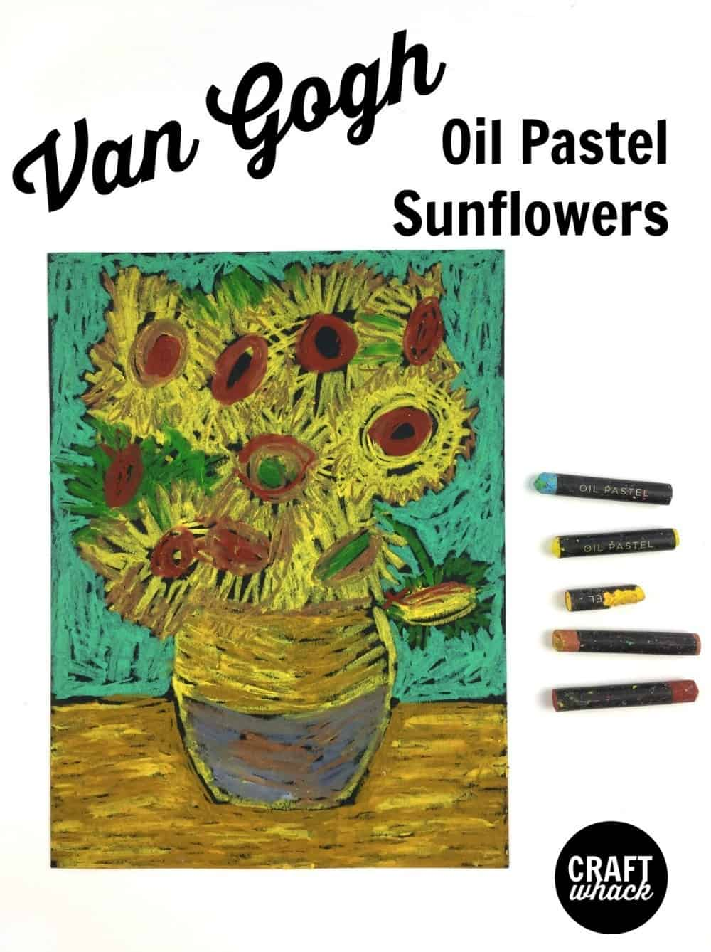 Van Gogh Oil Pastel Project